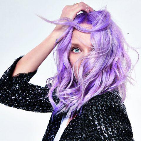 Visuell Lavender Hair