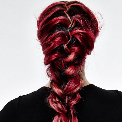 Visuell Magenta Hair